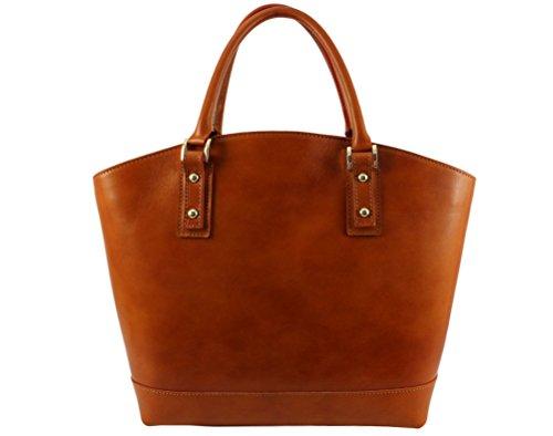 Plusieurs cuir cuir vacy cabas main Sac cuir Camel Clair sac a Vacy Coloris vacy Italie à sac sac main nRnpwXxg
