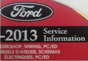 Download 2013 FORD FOCUS ST Service Shop Repair Information Workshop Manual ON CD NEW pdf
