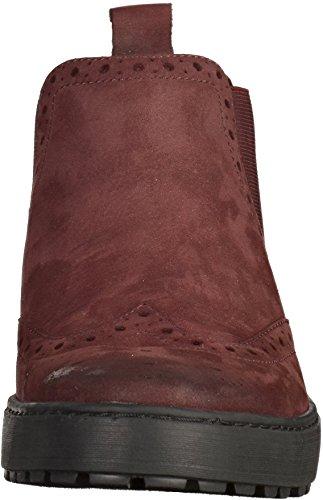 ara43818-02 - botines de caño bajo Mujer burdeos