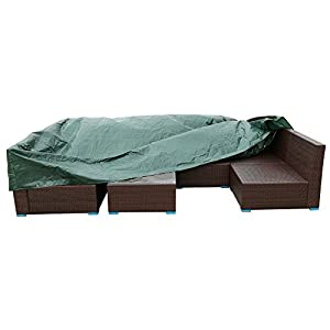 UnionBoys Outdoor Patio Furniture Set Cover Waterproof, Green by UnionBoys