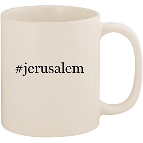 #jerusalem - 11oz Ceramic Coffee Mug Cup, White