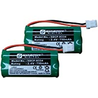 ATT CL82515 Cordless Phone Battery Combo-Pack Includes: 2 x SDCP-H334 Batteries