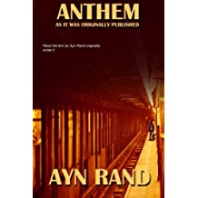 ANTHEM as it was originally published