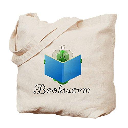 CafePress–Bookworm–Gamuza de bolsa de lona bolsa, bolsa de la compra