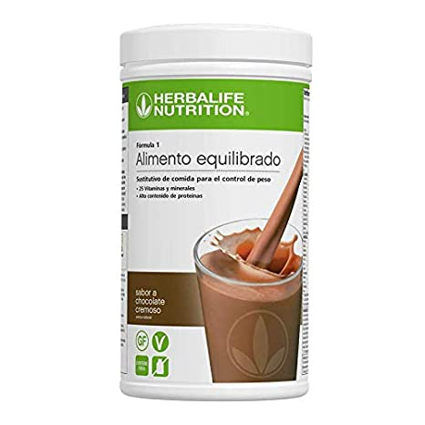 Herbalife Formula 1 Chocolate Cremoso - 2 x 550 g: Amazon.es: Industria, empresas y ciencia