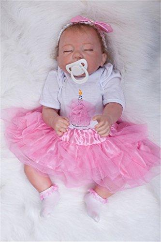 Real Life Pretty As a Princess Sleepy Silicone Vinyl Rebo...