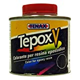 Tenax Tepox V Stain for Stone -- 1/4 Liter Brown