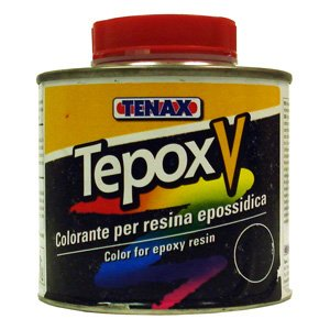 Tenax Tepox V Stain for Stone -- 1/4 Liter Brown by Tenax