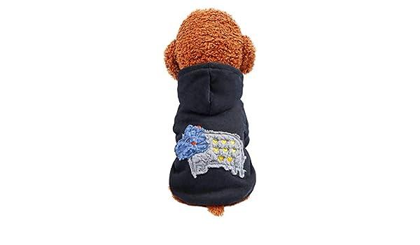 CAOQAO - Accesorios para Animales, suéter de Moda Estampado con ...