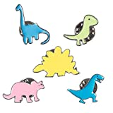 Dinosaur Pins Brooch Lapel For Girls Boys Backpacks Bags Clothing Stegosaurus Tyrannosaurus Triceratops Brontosaurus Trachodon