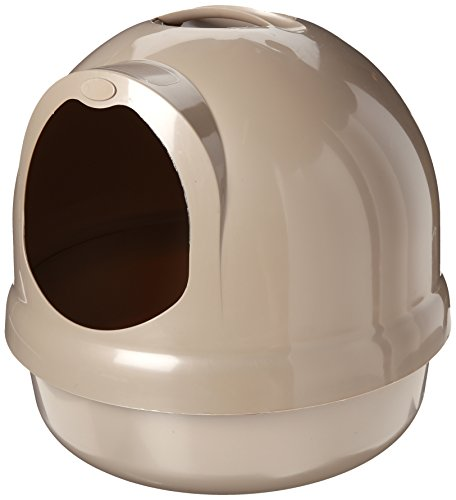 Amazoncom Petmate Booda Dome Litter Box Titanium Pet Supplies