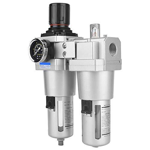 Compressor Filter kit, AC5010-06 SMC Type Air Pressure Compressor Filter Oil Water Regulator Tools Kit Air Filter Regulator