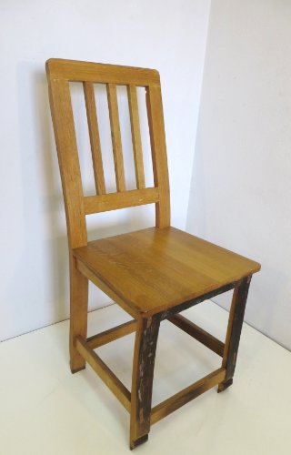 MGP Oak Stave Wood Chair 18