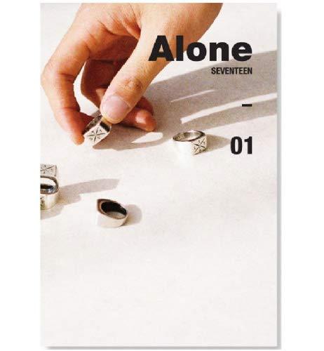 SEVENTEEN - 'Al1' Ver.1 Alone [1] (4th Mini Album) CD+Photobook+ Folded Poster + Extra Gift Sticker and Photocard Set