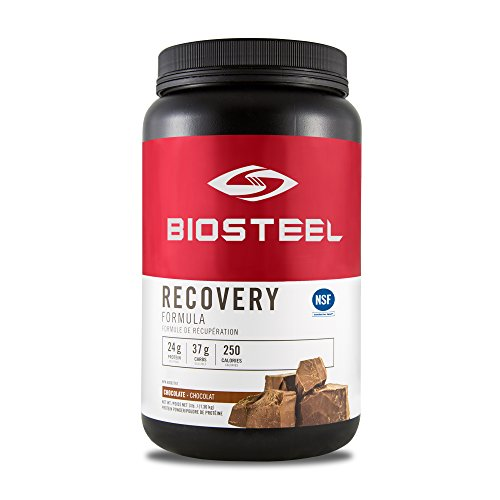 BioSteel Advanced Recovery Protein, Grass Fed, Non GMO, Gluten Free, Soy Free, Antibiotic and Hormone Free, Chocolate, 1224 Gram