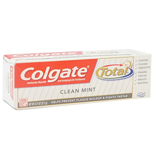 Colgate Total Toothpaste, Travel Size, 0.75 oz