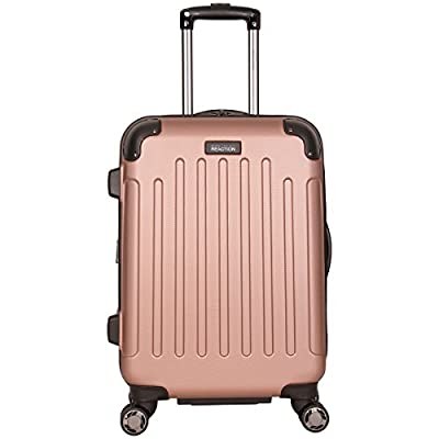 Kenneth Cole Reaction Renegade 20″ ABS Expandable 8-Wheel Carry-On, Rose Gold, inch