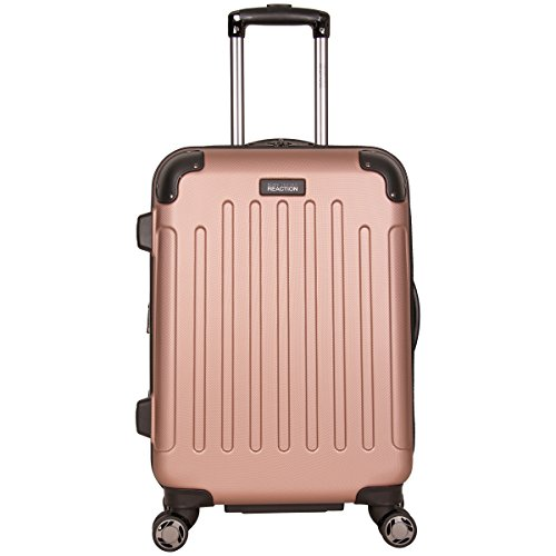 "Kenneth Cole Reaction Renegade 20"" Hardside Expandable 8-Wheel Spinner Carry-on Luggage, Rose Gold"