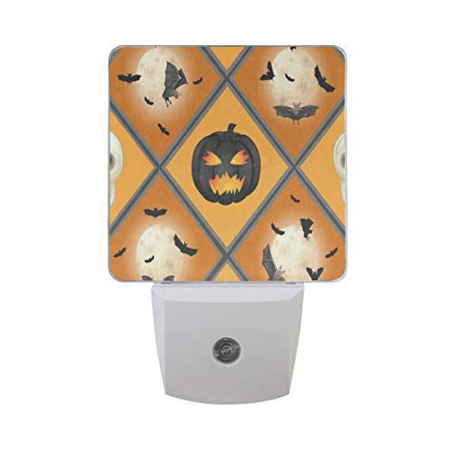 LED Night Light Halloween Pattern Nightlight Lamp Bed