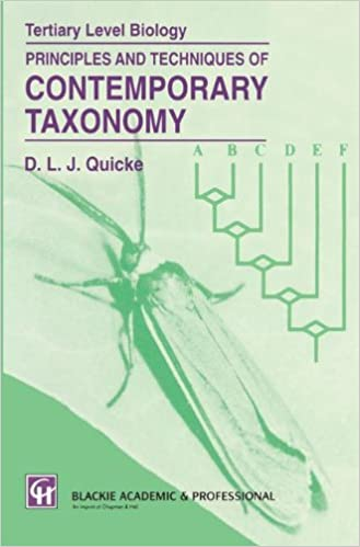 Principles and Techniques of Contemporary Taxonomy (Tertiary Level Biology)