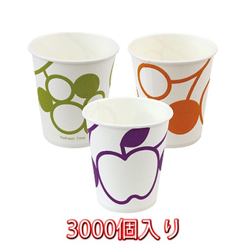 Ci Medical Fruit Paper Cup 5 Ounces 3000 Count by Ci Medical