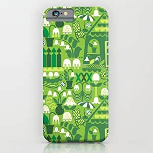 Aunt Lily-of-the-valley's Garden Diy For SamSung Galaxy S4 Case Cover Case by Christine Witte