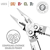 "SOG Multitool Pliers and Hand Tools – ""PowerAssist"" S66N-CP 2x Power Pliers Compound Leverage Multi Tool with 16 Specialty Tools + EDC Multitool Sheath"