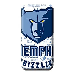 iphone 6 normal phone case skin Skin Shock Absorbing pattern memphis grizzlies nba basketball