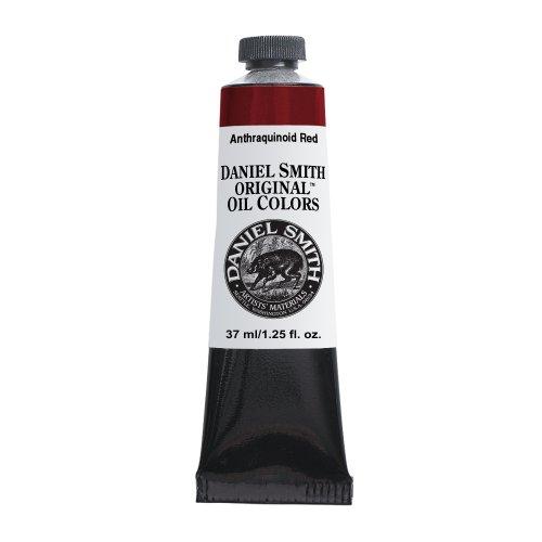 Daniel Smith Original Oil Color 37ml Paint Tube, Anthraquinoid Red