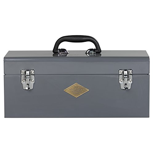 Gentlemen's Hardware Heavy Duty Metal Tool Box by Wild and Wolf