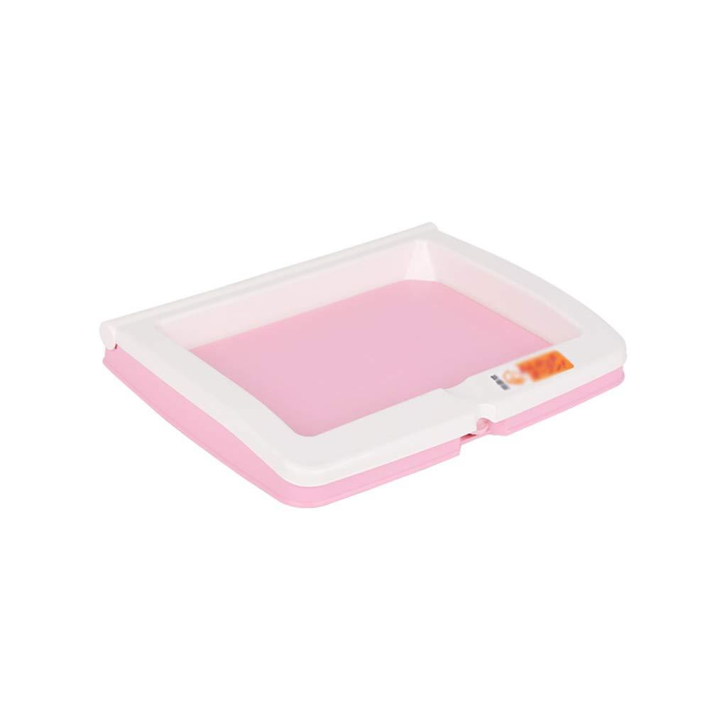 A 46cmX36.5cmX6cm A 46cmX36.5cmX6cm Teng Peng Pet Toilet Comfortable Open Non-Foldable pet Toilet (3 colors Available)  (color   A, Size   46cmX36.5cmX6cm)