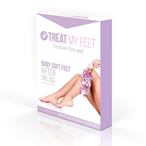 Foot Peel Mask to Exfoliate Feet. Two Pair of a Softer Foot Peeling Mask to Repair Rough Heels, Peel...