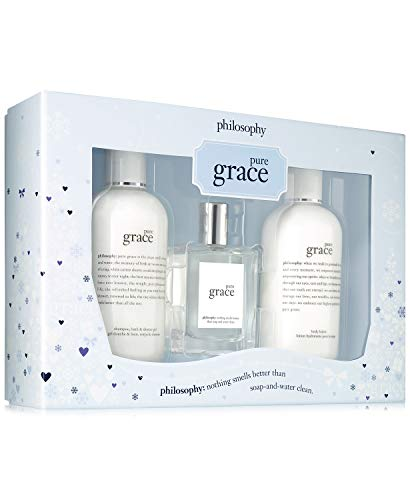 (Philosophy Pure Grace 3 Piece Fragrance Set for Women )