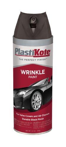 PlastiKote 217 Black Wrinkle Paint - 12 - Wrinkle Paint Black
