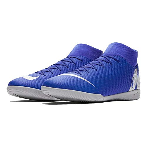 Nike Superfly X Academy Men's Indoor Soccer Shoes (11.5 M US, Racer Blue)