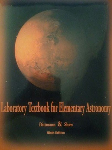 Laboratory Textbook for Elementary Astronomy