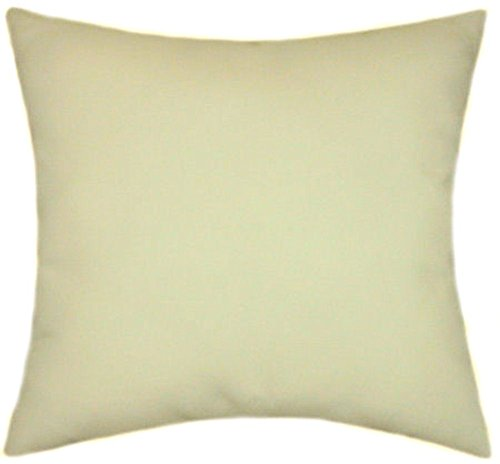 TPO Design Sunbrella Vellum Indoor/Outdoor Solid Patio Pillow 20x20 ()