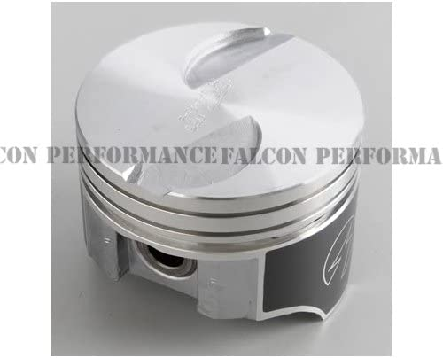 Speed Pro Hypereutectic Coated Skirt Flat Top 2VR Piston Set//8 compatible with Ford Mercury 460 9.0:1 .060