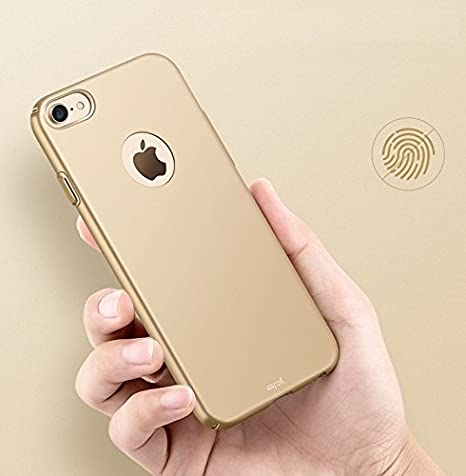 spL 360 Degree Full Body Protective Hard Back Cover for Apple iPhone 7  4.7 inch   Golden Mobile Phone Cases   Covers