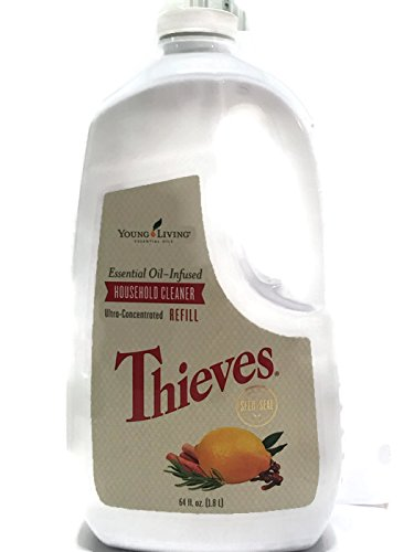 Cleaner 64 Ounce Refill - Thieves Household Cleaner Refill 64oz by Young Living Essential Oils,64 fl.oz.