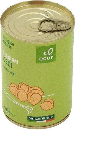Garbanzos cocidos 400 g (240 g sg.) BIO