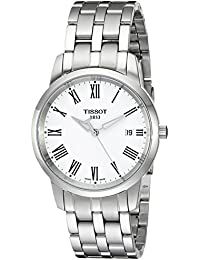 Men's T0334101101301 Classic Dream Stainless Steel Case and Bracelet Watch
