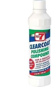 No7 06610 Clear Coat Polishing Compound - 8 oz