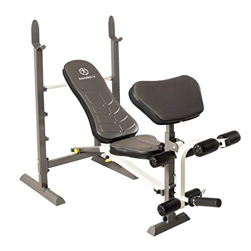 "Marcy Foldable Standard Exercise Bench, 50""x20""x9"""