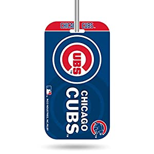 Rico Industries MLB Chicago Cubs KeychainKeychain Luggage Tag, Team Colors, One Size