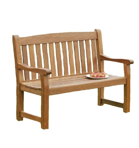 Sun Time Balmoral 2-Seat Bench in Nyatta Hard Wood