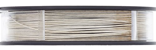 Beadalon Silver Plated Wire-19 Strand, .024, 15ft - BDC-762.24 by Beadalon (Image #1)