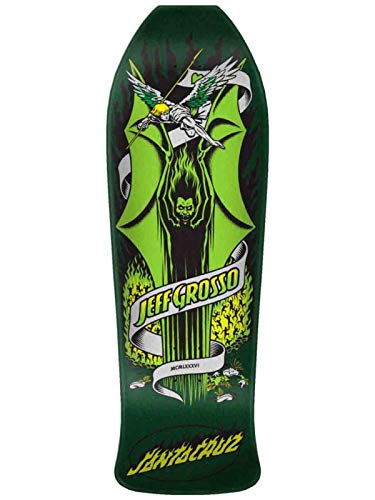 Santa Cruz Grosso Demon Reissue Skateboard Deck,Assorted,9.98