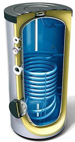300 L Liter Warmwasserspeicher mit 1 Wärmetauscher, Standspeicher ...