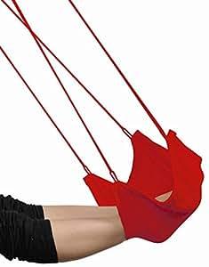 Amazonas Foot Rest - Reposapiés, color rojo